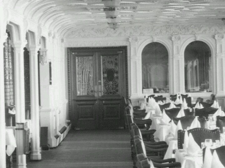 RMS Olympic First Class Dining Room. Part 49