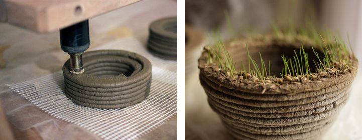 3D Grass Printer Lets You Produce Creative Gardens in Any Shape You Want - My Modern Met
