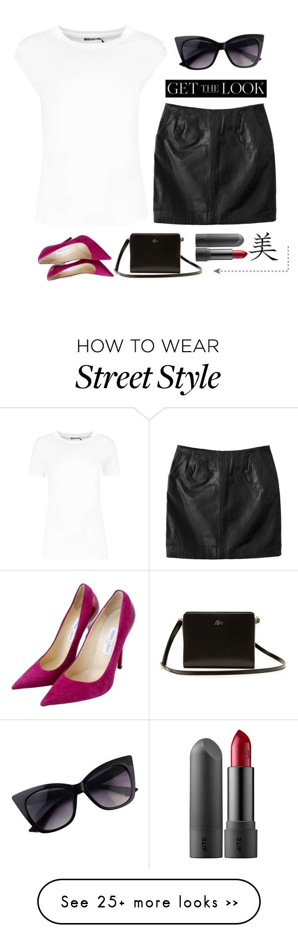 """KSS.3"" by kay-kay-1 on Polyvore featuring Jaggar, Lacoste and Jimmy Choo"