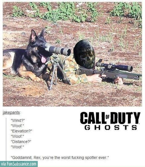 Call of duty woofs