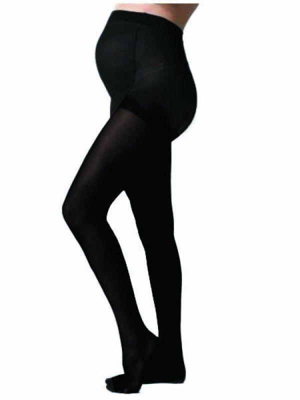 Premium 80 Denier Tall Maternity Tights - Jet Black