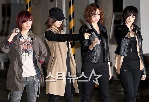 Qri, Hyomin, Eunjung & Jiyeon <3