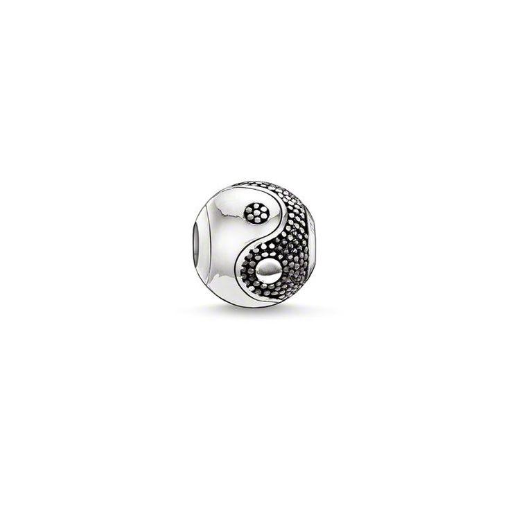 bead yin-yang – Beads – Sterling Silver – THOMAS SABO