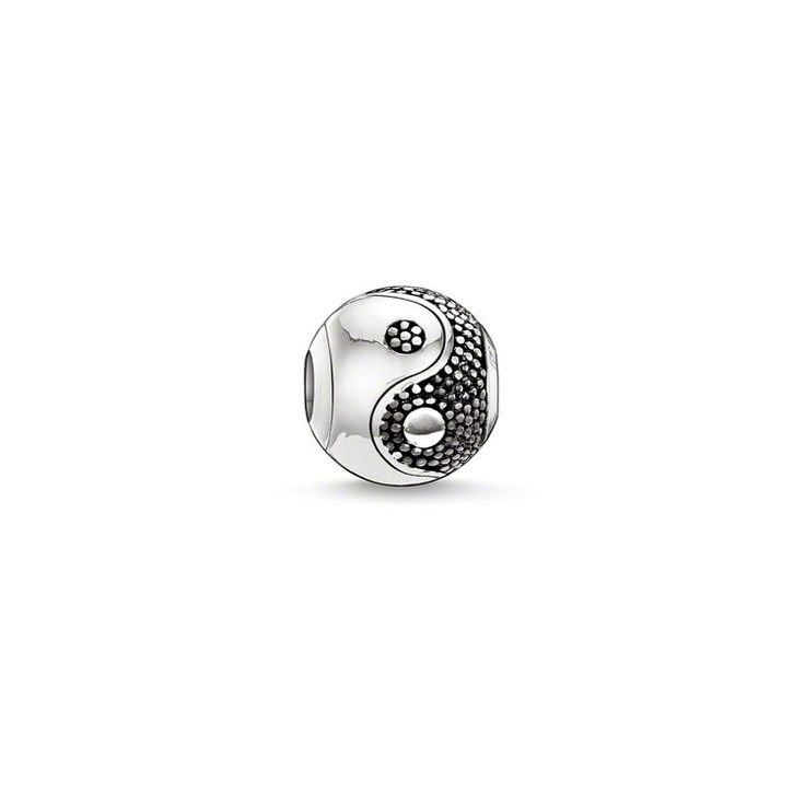bead yin-yang – Beads – Sterling Silver – THOMAS SABO