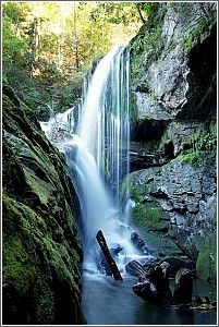 cascading waterfalls, South Carolina's Upcountry