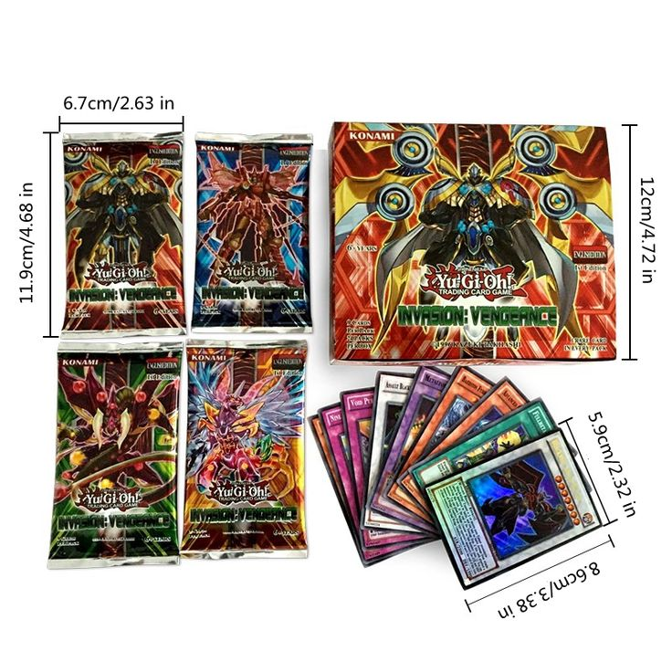 216pcs/lot Anime Yugioh Game English Cards Toys Yu Gi Oh Collection Trading Cards Toys for Children Playing Games Christmas Gift #Affiliate