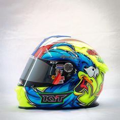 Racing Helmets Garage: KYT TingNote 2016 by Chayanon Design