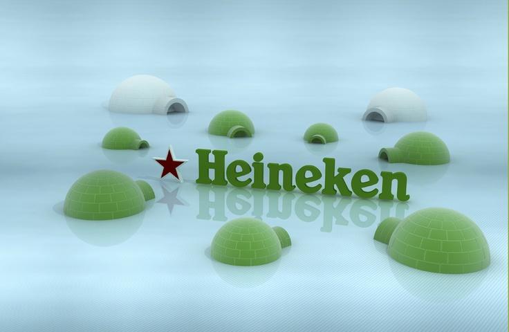 .Diseño de interiores para la empresa Heineken, Customizaciones en discotecas de Barcelona y locales de noche Ice bar Barcelona