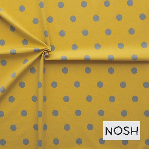 Polka dots, keltainen/ harmaa NOSH