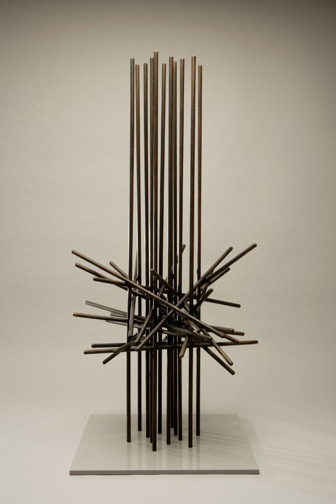 Herbert Bayer Abstract Sculpture Memorial Structure 1961