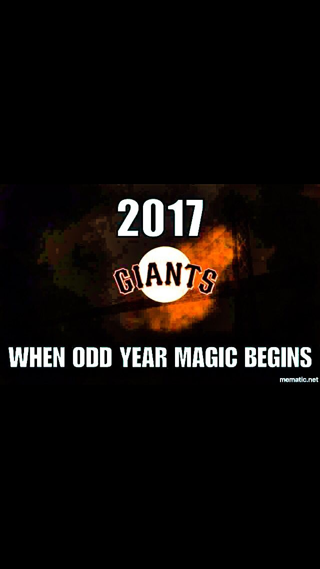SF Giants odd never looked so good