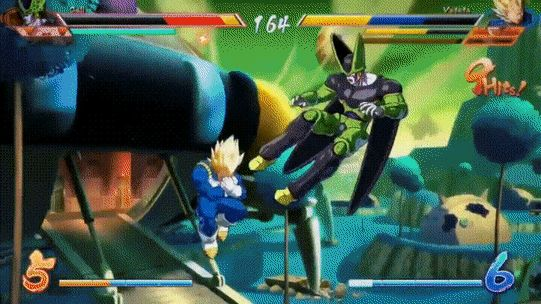What a nice gif from the new Dragonball game