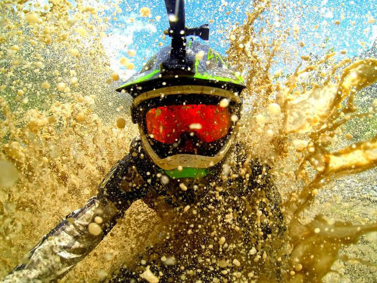 GoPro. Way too dirty, but lot's of fun.