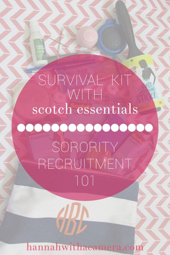 In part 3 of my sorority recruitment series, I've put together a kit of all the essentials to have on hand. #WardrobeSolutions #ad