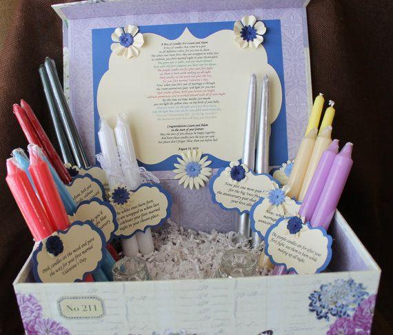 wedding shower candle poem gift set bridal candle basket sentimental wedding gift candle
