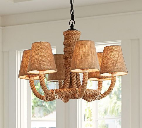 14 best Rope Chandelier images on Pinterest Lighting ideas