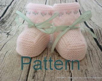 Knit baby pattern.Pattern baby cardigan with Robin.Pattern