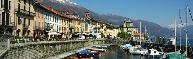 Lago Maggiore het meer aan de voet van de bergen | Vakantiehuizen, Vakantiewoningen en Appartementen aan het Lago Maggiore met zwembad.