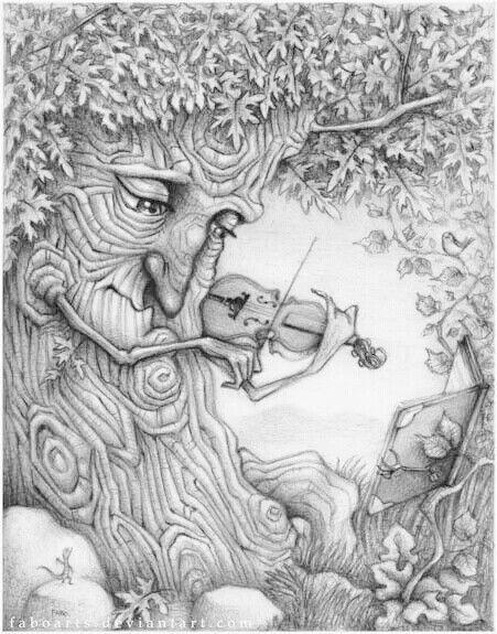 Musical tree