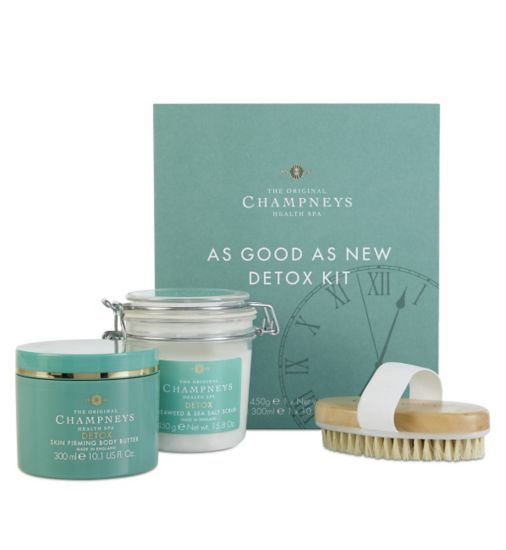 Buy Champneys As Good As New Detox Kit Gift Christmas Gifts - Boots