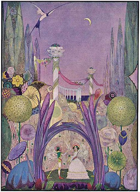 Harry Clarke - Fairy Wedding