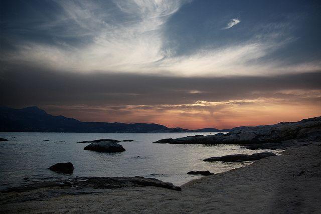 #sunset #scene #corsica