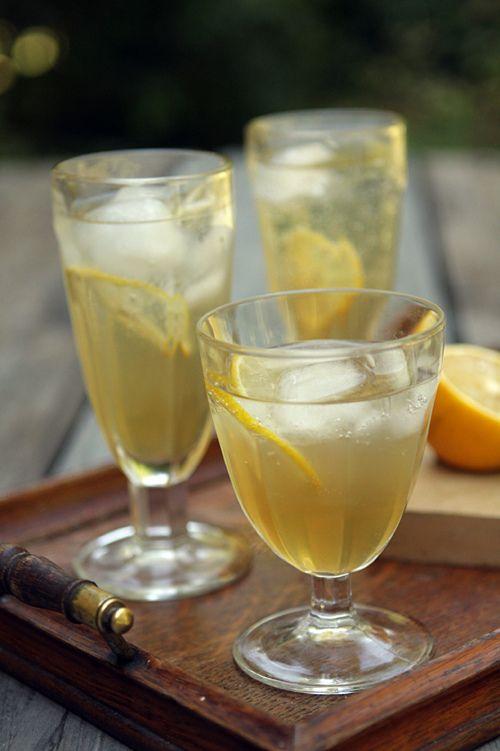 fresh ginger soda