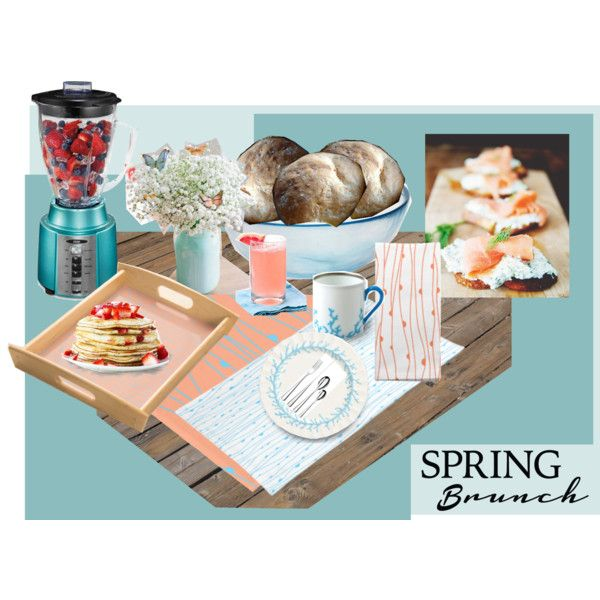 Spring Brunch by fallforit on Polyvore #springbrunch #tablecloth #placemat and #clothnapkin by #KBMD3signs are available at #zazzle http://www.zazzle.com/fallforit*?tc=pin