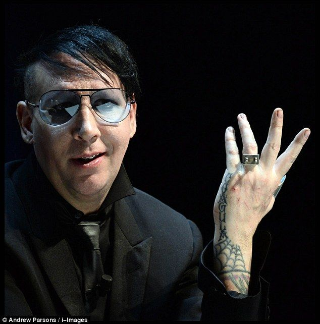 Speaking at the Cannes Lions festival today, Marilyn Manson said he wants people who didn't like him before to start listening to his music