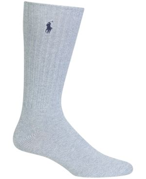 Polo Ralph Lauren Men's Crew Socks - Oxford Blu New 10-13