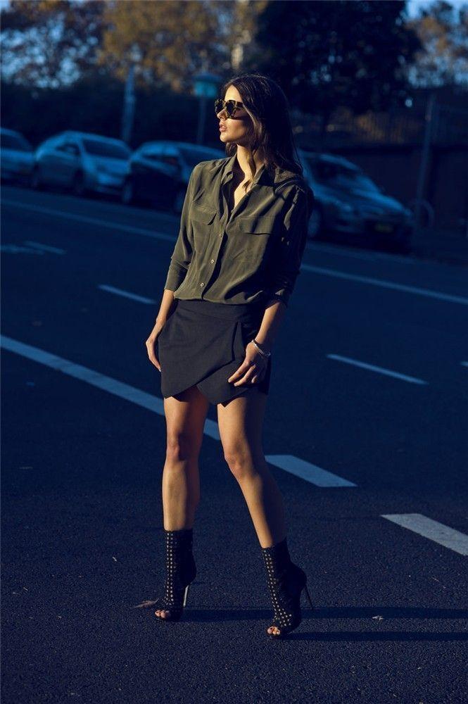 10 maneras de llevar la falda pantalón de Zara: Harper & Harley