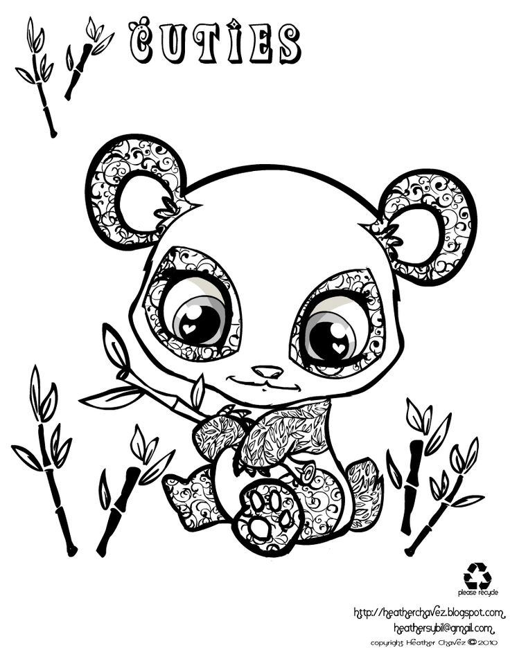 49 best super cute animal coloring pages images on Pinterest