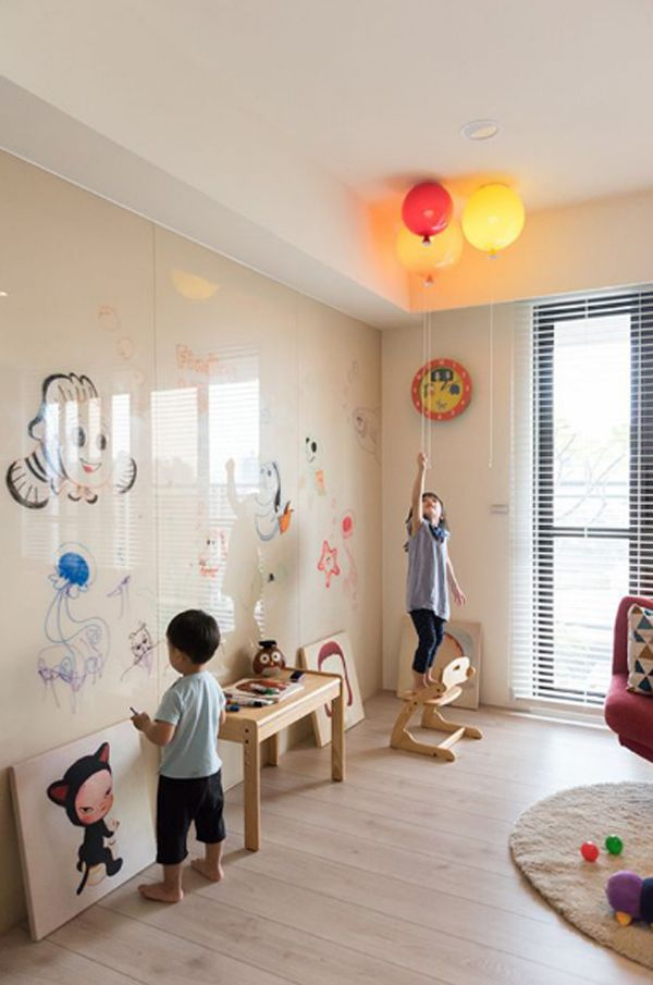 20 Interactive Wall Ideas For Kid Spaces Home Design And Interior Interactive Walls Kids Wall Decor Kid Spaces