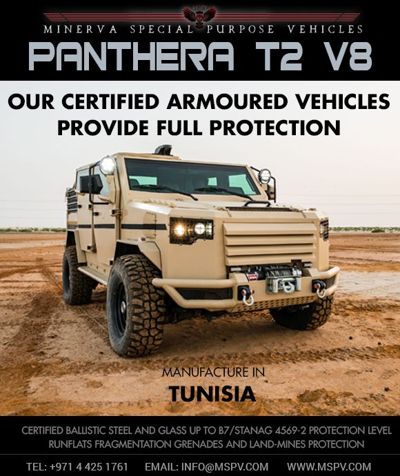 Armored Military Vehicles TUNISIA