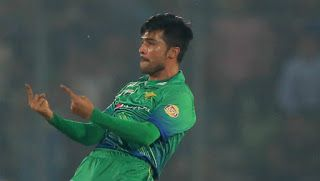 Amir bowled with lion heart