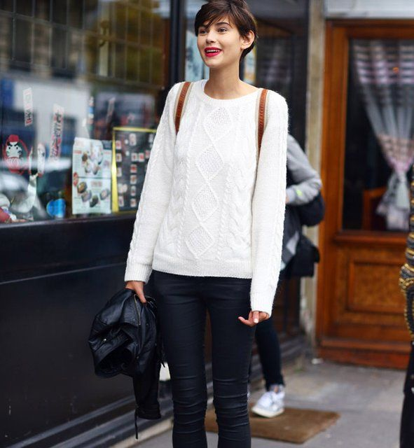Fancy - Cable Knit Jumper