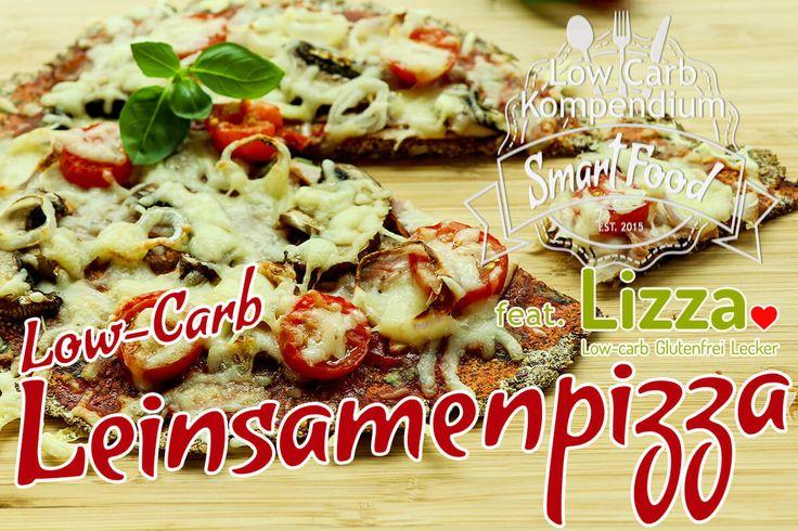 Low-Carb Leinsamenpizza - Jeder kennt sie, jeder liebt sie - Die Pizza. Deshalb haben wir uns eine leckere Low-Carb Pizza-Alternative überlegt.