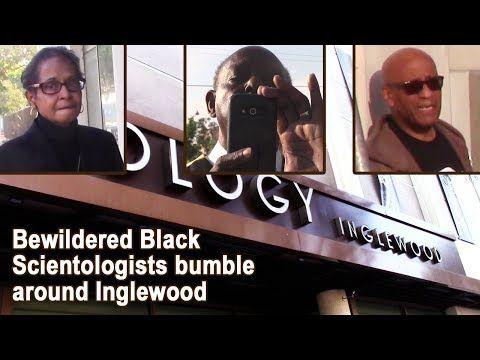 (1541) Bewildered Black Scientologists bumble around Inglewood, CA - YouTube