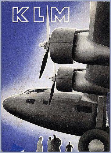 Affiche KLM - 1936