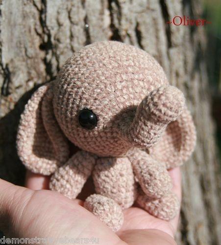 Amigurumi Joints : 66 mejores imagenes sobre Elephant Crochet Patterns en ...