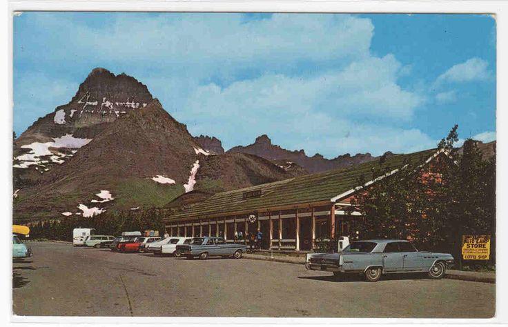 Swiftcurrent Motor Inn Cars Glacier National Park Montana - bidStart (item 36374993 in Postcards... Other)