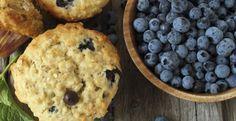 Muffins aux bleuets, miel et yogourt - Recettes - Ma Fourchette