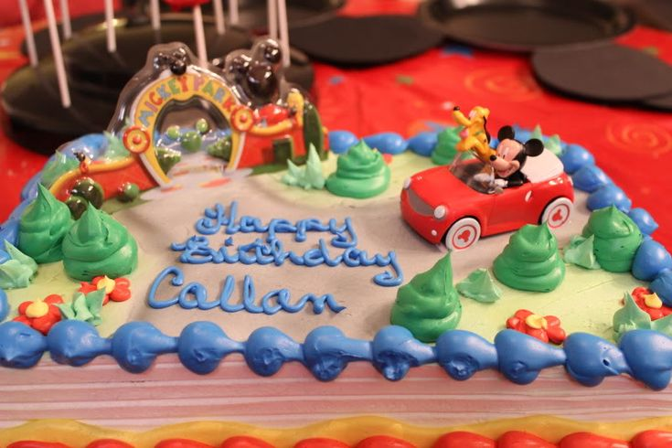 Publix Mickey Mouse Cake My Favorite Snacks Across Wdw The