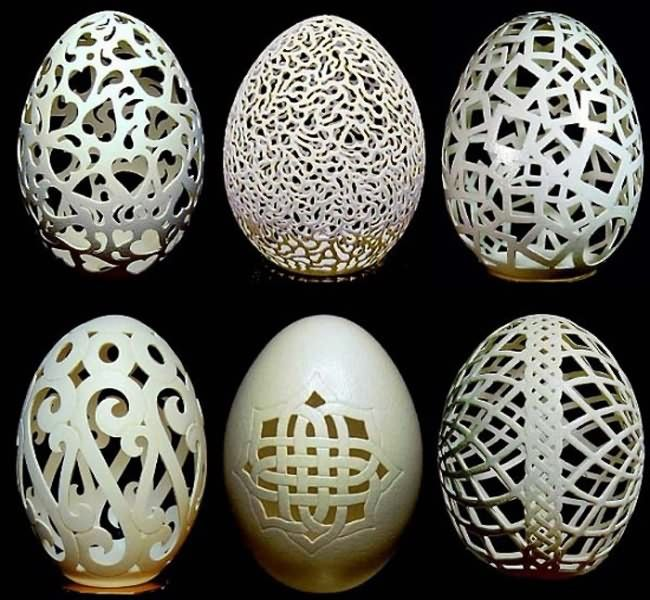 Eggshell Sculptures ... just amazing!