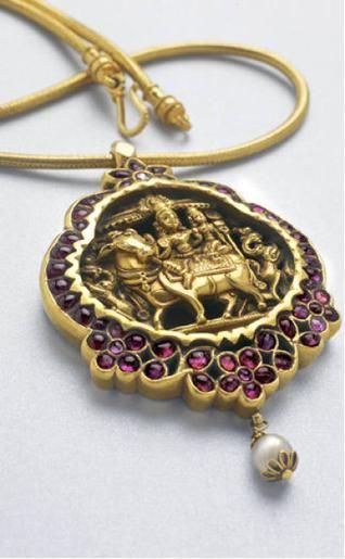 Antique Indian pendant