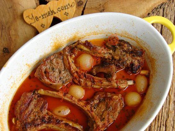 Fırında Soslu Kuzu Pirzola Resimli Tarifi - Yemek Tarifleri