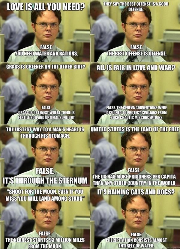 Dwight Dwight Dwight