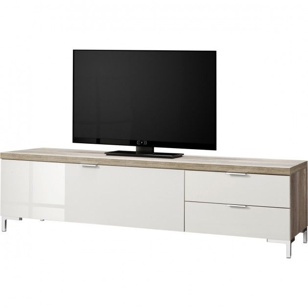 TV meubel 12 wildeiken/zandglas Cleo 319