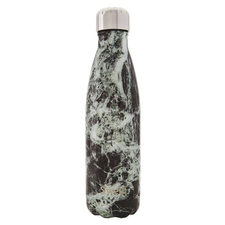 Swell Element - Baltic Green Marble Stainless Steel Insulated Drink Bottle 500ml