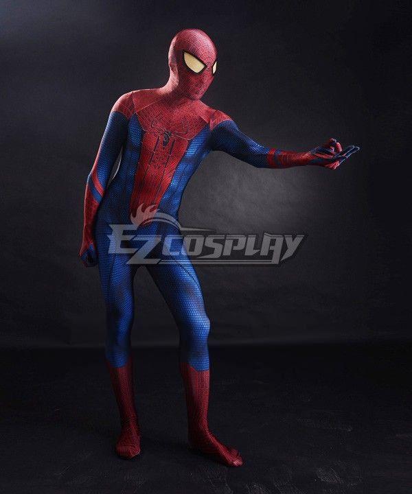 Marvel Spiderman 2015 The Amazing Spider-man 3D Original Movie Spider-man Costume